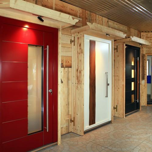 Die praktische Präsentationswand für Türen in Dornstetten